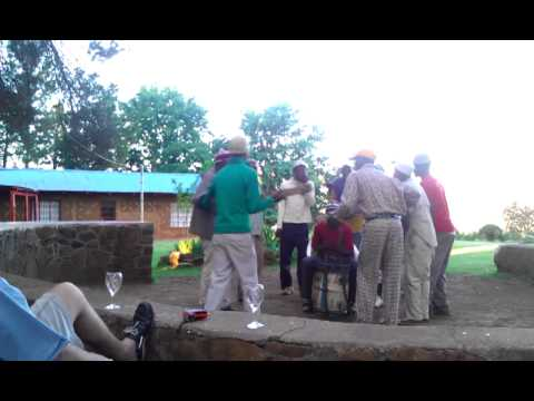 Traditional Song and Dance in Lesotho, 2011