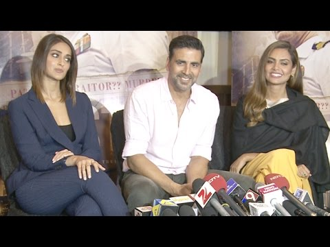 UNCUT: Rustom Movie 2016 Interview | Akshay Kumar, Ileana D'Cruz, Esha Gupta