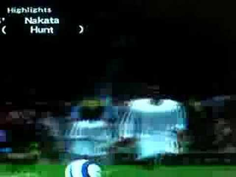 Nakata amazing goal in Winnning Eleven 10