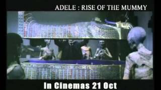adele rise of the mummy movie trailer