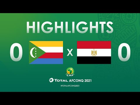 HIGHLIGHTS | #TotalAFCONQ2021 | Round 2 - Group G: Comoros 0-0 Egypt