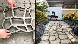 How to make a beautiful and easy entrance to the garden- Garden design DIY
