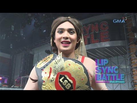 Sef Cadayona's Winner Moment   Lip Sync Battle Philippines