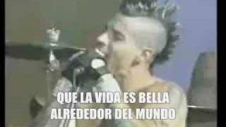 Red Hot Chili Peppers - Around the world  (subtitulos en español)
