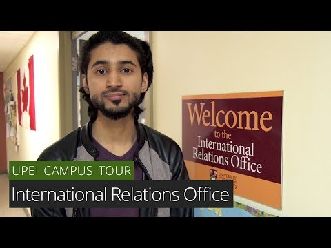 International Relations Office - UPEI Campus Tour