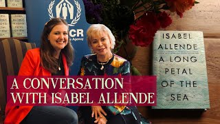 Isabel Allende interview! On writing, refugees, love, marriage, belonging and being bicultural ?
