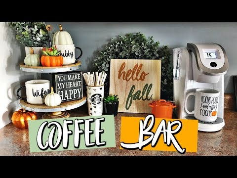 COFFEE BAR: Fall Decor Ideas & Target Haul | Belinda Selene