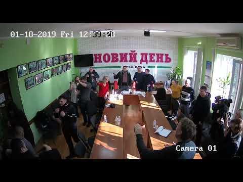 """vgorunews: Стрілянина в прес клубі """"Новий День"""""""