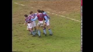 Tottenham 1-4 West Ham 4th April 1994