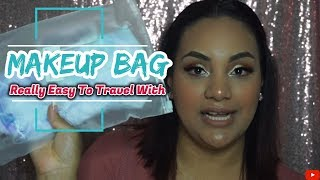 Easy & Good Makeup Bag To Travel /Christy's Makeup