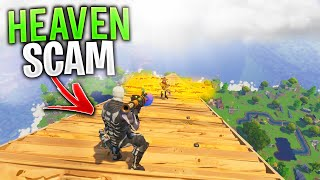 Arnaque NEW The Stair Way To Heaven SCAM! (Scammer Obtient Scammed) À Fortnite Save The World
