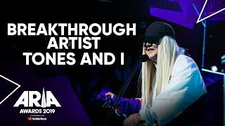 Download lagu Tones And I wins Breakthrough Artist I 2019 ARIA Awards