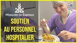 Soutiens au personnel hospitalier - Mosquée de Bagneux (92)