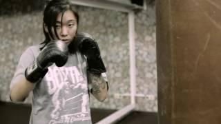 #3 Учимся бить боковые удары. Ольга Ким
