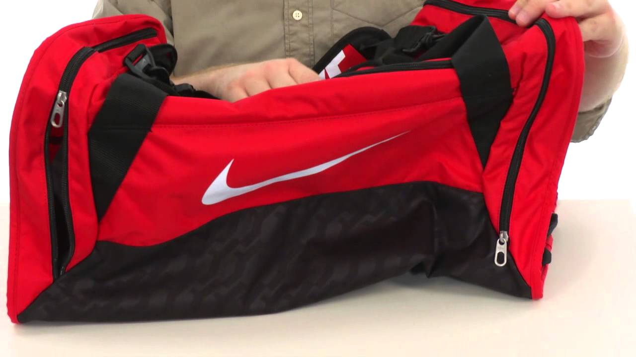 Nike Brasilia 6 Medium Duffel SKU 8238931 - YouTube 9710af0e29ae1