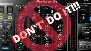 DJ BETTER - DON'T REDLINE THE MIXER!