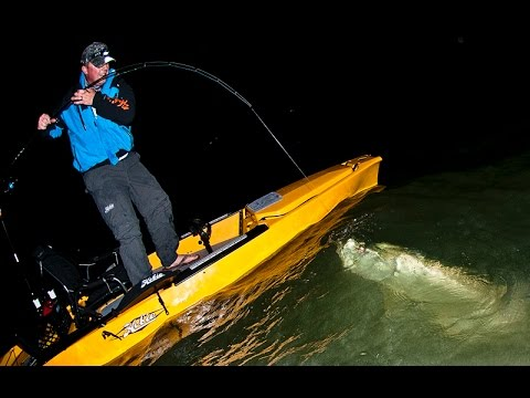 chasing midnight silver: kayak tarpon fishing at night - youtube, Reel Combo