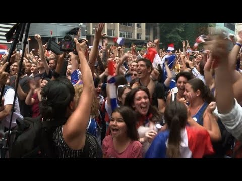 La finale de Coupe du monde suivie à travers le monde