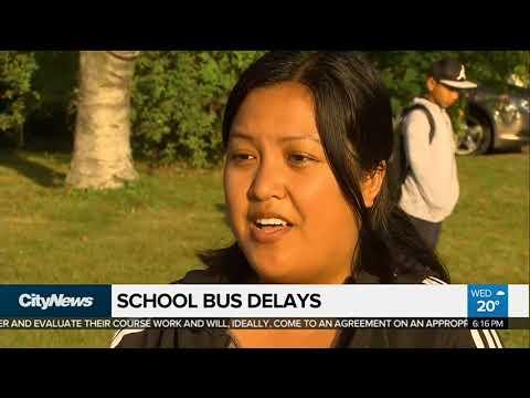 School bus delays continue for second day in Toronto