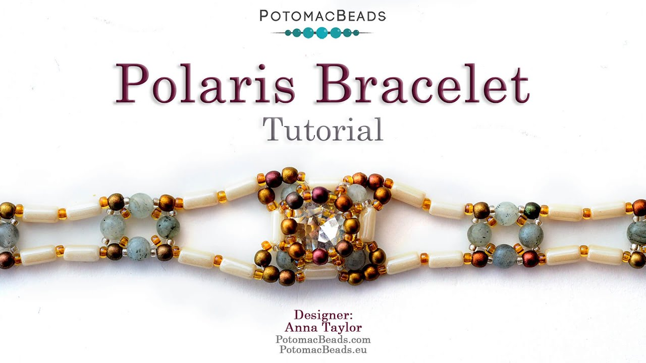 Bracelet with polaris beads with name rose