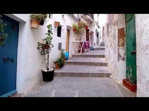 Ibiza old town SPAIN