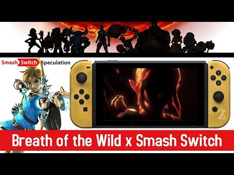 Breath of the Wild Link in Smash Switch | Smash, Switch, Speculation