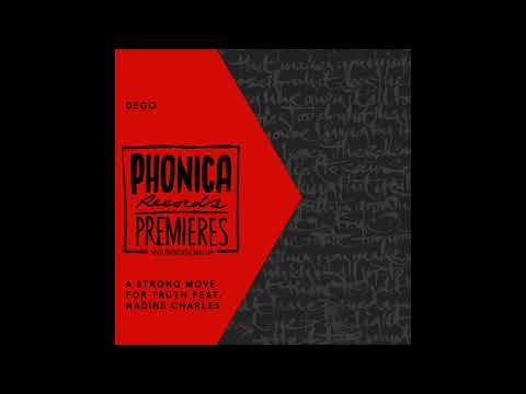 Phonica Premiere: Dego - A Strong Move For Truth [2000 BLACK] Mp3