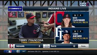 Terry Francona on Indians' throwbacks: 'I work too hard to look this silly.'