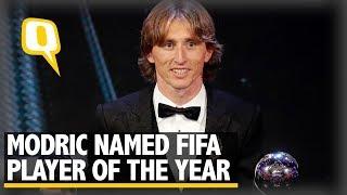 Luka Modric Beats Ronaldo and Mo Salah to FIFA Player of the Year Award | The Quint