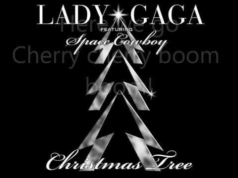 Lady Gaga - Christmas Tree (Ft. Space Cowboy) Lyrics (On Screen)