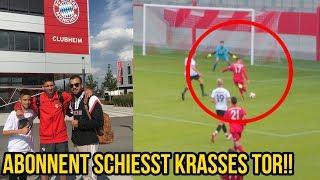 FC Bayern München Abonnent schiesst krasses Tor!