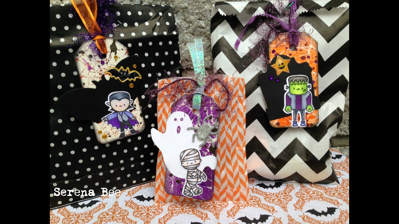 DIY Halloween Gift/Goodie Bag Tags | Serena Bee's ...