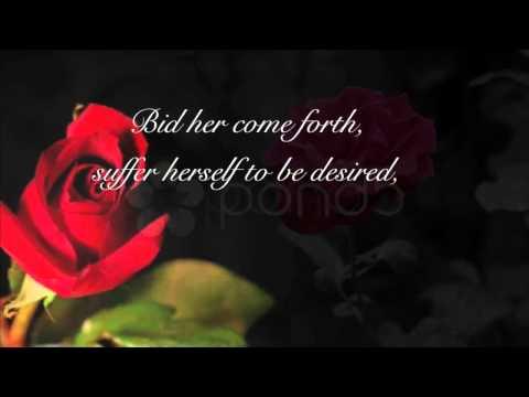 Eric Whitacre - Go, Lovely Rose [Lyrics HD]