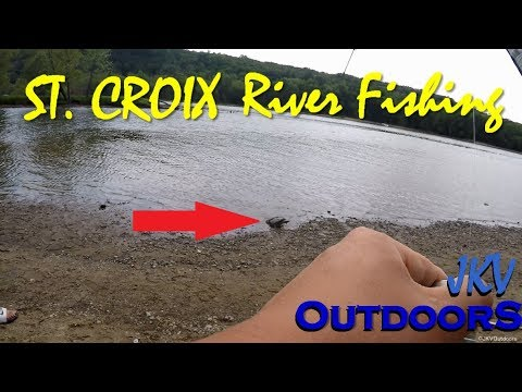 I CAUGHT SOMETHING HUGE! | St. Croix River Fishing | Stillwater, MN | JKV Outdoors