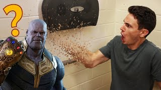 thanos snaps his fingers videos, thanos snaps his fingers