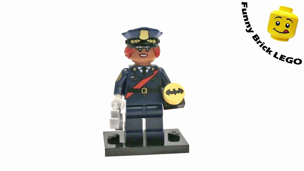 LEGO BATMAN MOVIE MINIFIGURES SERIES 71017 Barbara Gordon #6 NEW!!