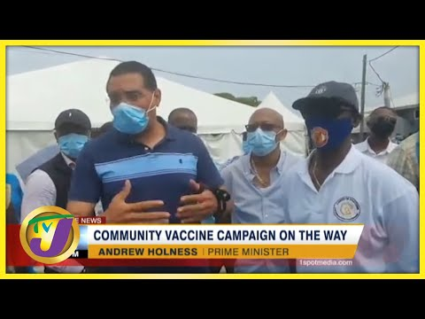 Community Vaccine Campaign on the Way   TVJ News - September 1 2021