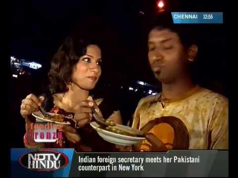 FEEDING FRENZY - NDTV HINDU - MOYYAN KADAI -  STREET FOOD