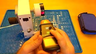 Download Non-Contact Laser (Photo) Digital Tachometer Review/Demo/Tips DT-2234C+