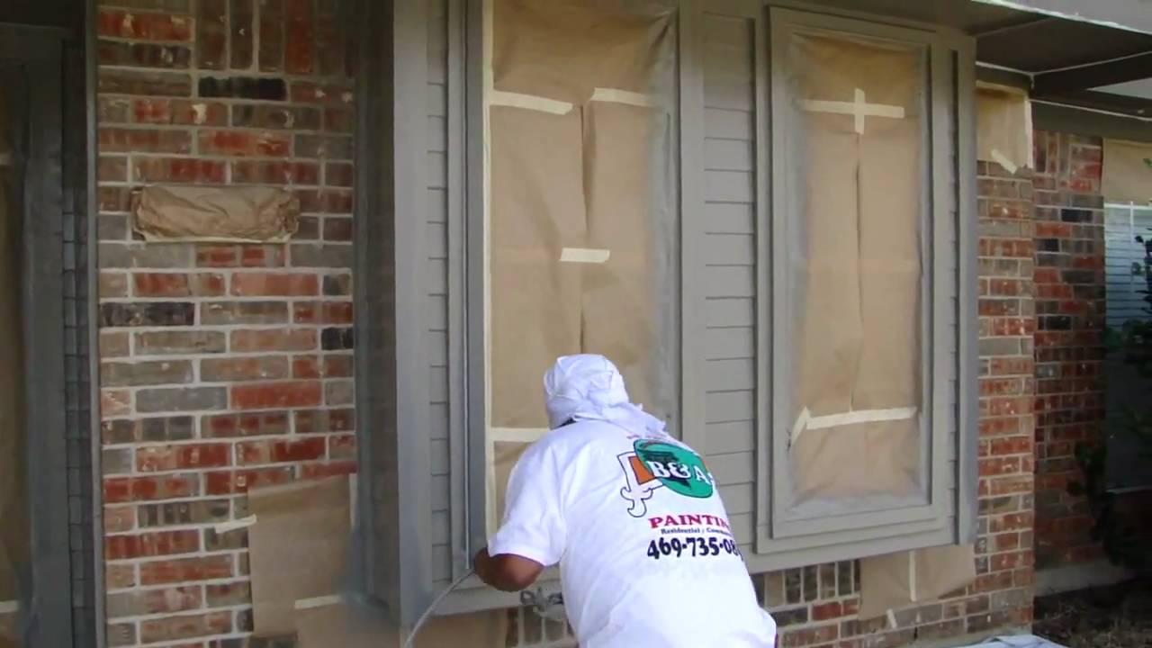 Exterior Painting Dallas Ft Worth Spay Painting
