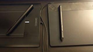 Wacom Graphic Tablets - Intuos Art vs Intuos Pro vs Bamboo vs...