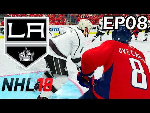 NHL 18 Los Angeles Kings Franchise - EP08 - Washington Capitals, 2018 Stanley Cup Finals
