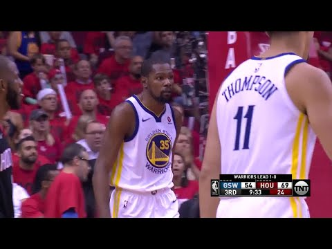 3rd Quarter, One Box Video: Houston Rockets vs. Golden State Warriors
