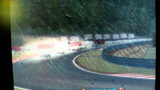 PS2 Grand Prix Challenge Racing in the Rain Graphics