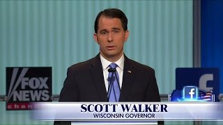 """Scott Walker: One article once called me """"aggressively normal."""""""