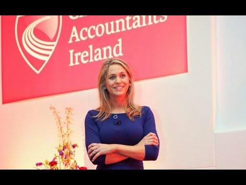 Roisin presentation at Chartered Accountants Ireland