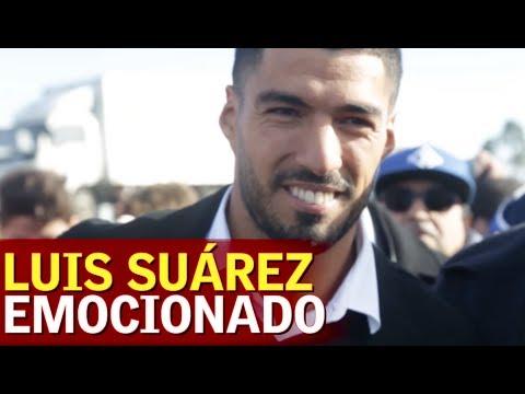 Las lágrimas de Luis Suárez en el homenaje de Nacional de Uruguay | Diario AS