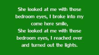 Bedroom eyes - Natty with Lyrics