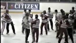 Wild Soo- Hamilton OHL bench brawl 03-09-85