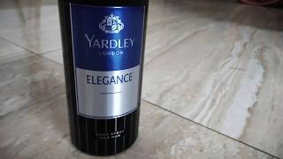Review of YARDLEY London ELEGANCE DeoDrent for men ( Sweet Smell)